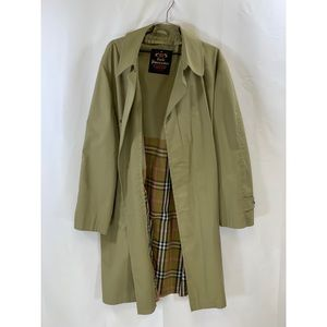 VTG Lord Forecaster Courier Olive Trench Coat 46